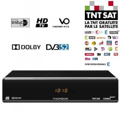 THOMSON THS 804 Décodeur TNT HD satellite TNTSAT