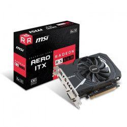 MSI Carte graphique Radeon RX 560 AERO ITX 4G OC - 4 Go - GDDR5