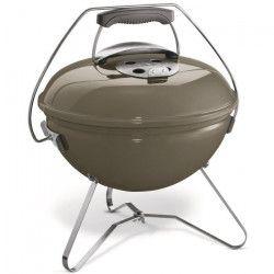 WEBER Barbecue a charbon portable Smokey Joe Premium Ø37 cm - Acier chromé - Gris