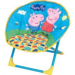 Fun House Peppa Pig siege lune pliable pour enfant