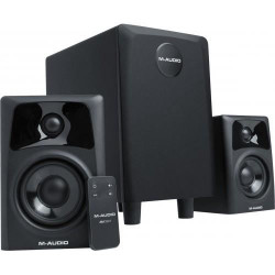 M-AUDIO AV32.1 Systeme Multimédia amplifié 2.1