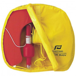 PLASTIMO Systeme de sauvetage Rescue Buoy - Bouée fer a cheval - Avec feu a retournement - Blanche