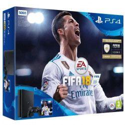 Nouvelle PS4 Noire 500 Go + FIFA 18