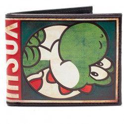 Portefeuille pliable Mario: Yoshi