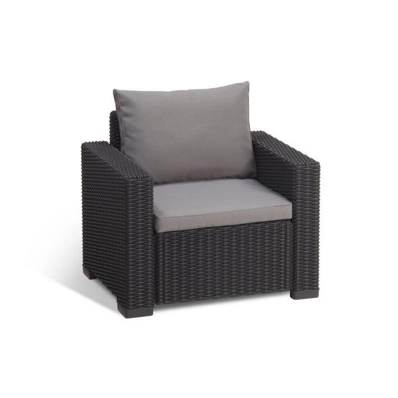 allibert salon de jardin california 5 places. Black Bedroom Furniture Sets. Home Design Ideas
