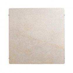 MAZDA DUAL KHERR 1000 watts Radiateur électrique a inertie pierre programmable - Couleur Sable Blanc