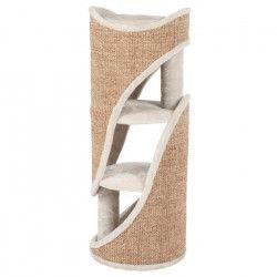 TRIXIE Cat Tower Jasone 98cm - Gris clair et brun - Pour chat