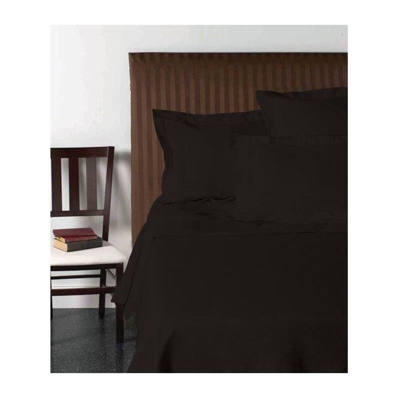vision drap plat 270x300 cm noir. Black Bedroom Furniture Sets. Home Design Ideas