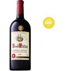 Double Magnum Grand Listrac 2008 Listrac Médoc - Vin rouge de Bordeaux