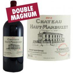 Double Magnum Château Haut Marbuzet 2012 Saint Estephe - Vin rouge de Bordeaux