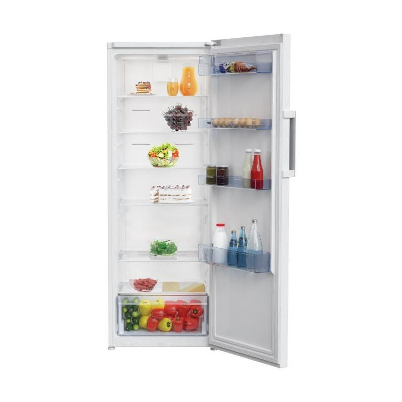 Beko res44nw r frig rateur 1 porte 375l froid - Refrigerateur 1 porte inox froid ventile ...