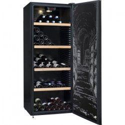 CLIMADIFF CLPP190 Cave a vin polyvalente ou de vieillissement - 187 bouteilles - Pose libre - A - L 63 x H 169,5 cm