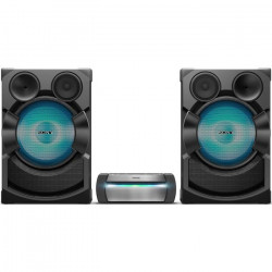 SONY SHAKEX70PIEU Systeme audio high-power avec lecteur DVD - Bluetooth - Fonctions Karaoké - Effets DJ