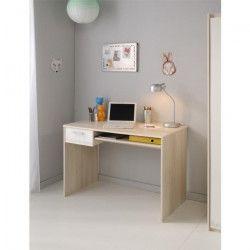 CHARLEMAGNE Bureau Acacia/Blanc