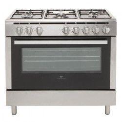 Continental Edison CECP9060MI - Cuisiniere table Gaz- 5 foyers-3000w-Four
