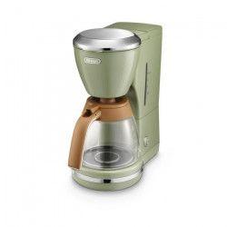 DELONGHI ICMOV210.GR Cafetiere a filtre Icona Vintage - Olive