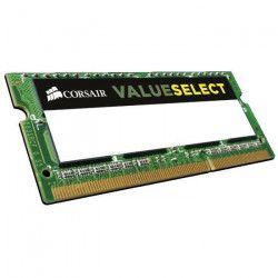 CORSAIR Mémoire PC Portable DDR3 - Value Select 8Go (2 x 4 Go) - 1600 MHz - CAS 11 (CMSO8GX3M2C1600C11)