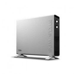 DELONGHI HCX3120FS 2000 watts Radiateur Convecteur mobile - Slim Style - Technologie Hi-Fi