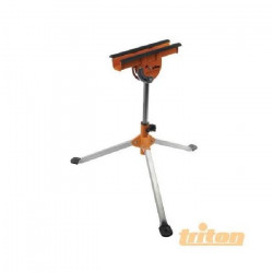 Servante multifonction tripode a tete pivotante - réglable et pliable 635 mm - 940 mm - charge max 100 kg