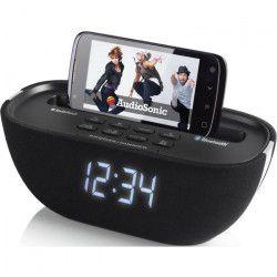 AUDIOSONIC CL-1462 Radio Réveil Bluetooth - Port de chargement USB