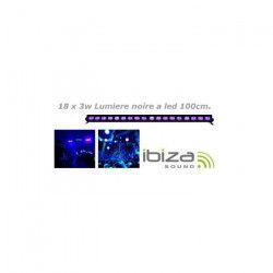IBIZA LIGHT LED-UVBAR18 Barre a LED UV 18 x 3W