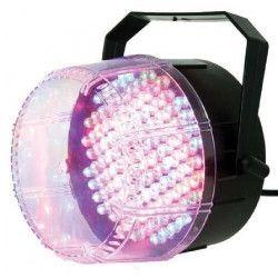 IBIZA Stroboscope tricolore Jeux de lumiere a 112 LED