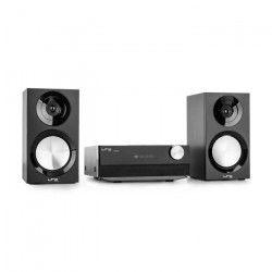 LTC AUDIO CDM90-BL Micro systeme avec tuner AM / FM - Lecteur Cd et Bluetooth - 2 X 20w