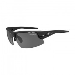 TIFOSI Lunettes Crit Noir Mat Smoke Ac Red Clear