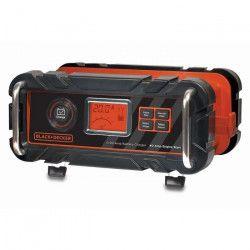 BLACK & DECKER Chargeur de Batterie 20 A + Démarreur 40A Noir et Rouge