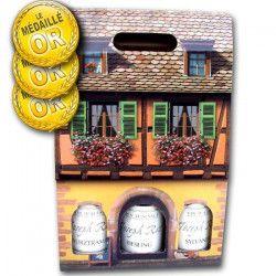 Coffret Alsace J. Riss de 3 Grands Vins Médaillés