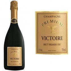Champagne Victoire Premium Brut Premier cru AOC