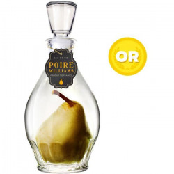 Distillerie de Thouarcé Poire Carafe d`Eau de Vie de Poire Williams 45%