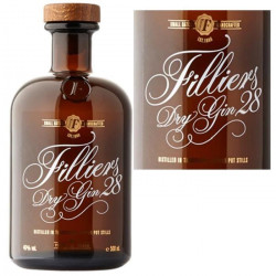 Filliers dry Gin 50cl 46° Belgique