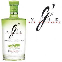 G`Vine Floraison - Gin français - 40% - 70cl