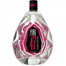 Gin Pink 47 LONDON DRY - 70 cl - 47 °