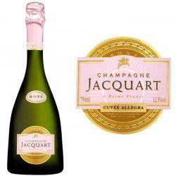 Champagne Jacquart Allégra Rosé
