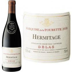 Marquise de la Tourette Hermitage 2008 Delas - Vin rouge de la Vallée du Rhône