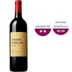 Château Franck Phélan Ségur 2012 Saint Estephe - Vin rouge de Bordeaux