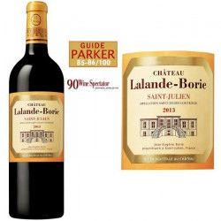 Château Lalande Borie 2013 Saint Julien - Vin rouge de Bordeaux