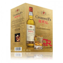 Whisky Cromwell`s 3L Bib 40° scotch