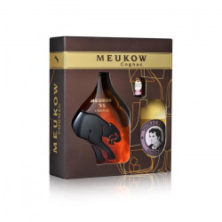 Meukow Cognac 35cl - Coffret Cocktail Horse`s Neck