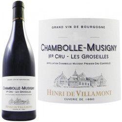Henri de Villamont Chambolle Musigny 1er Cru `L...