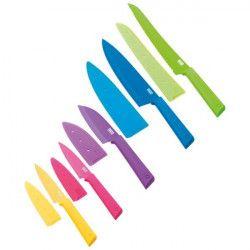 KUHN RIKON Set de 5 couteaux de cuisine - Colori+ Everyday