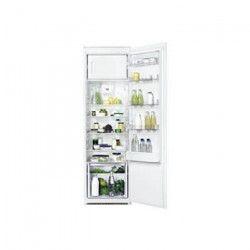 FAURE FBA30455SA - Réfrigérateur encastrable - 294 L (268 + 26) - Froid brassé - A+ - L 56 cm x H 1.78 cm -