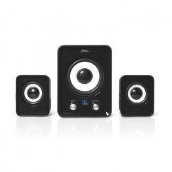 ADVANCE Enceinte SP-U803BK Soundphonic systeme 2.1 - 6 W - PC / Mac - Noir