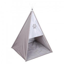 Tente tipi Dogi 37x37x52 cm - Taupe - Pour chien