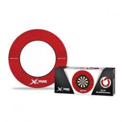XQmax Darts Cercle de cible de fléchettes EVA Rouge QD7300420