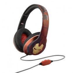 IRONMAN casque audio enfant Stéréo - Microphone intégré