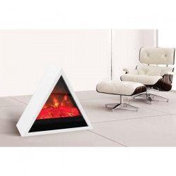 CARRERA Khéops 1800 watts Cheminée électrique pyramidale décorative et chauffage d`appoint