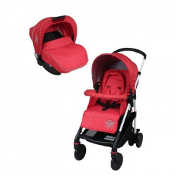 BAMBIKID Poussette Combinée Duo shopping